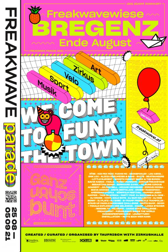 Freakwave Poster